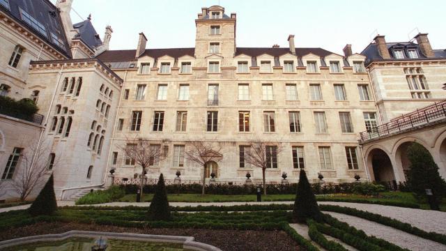 Le lycée Louis Le Grand, l'un des plus prestigieux lycées de la capitale préparant aux grandes écoles [Jean-Pierre Muller / AFP/Archives]