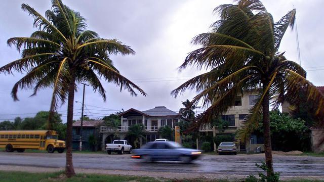 Une rue de Corozal, à 200 kilomètres de Belmopan, capitale du Belize [Fernando Morales / AFP/Archives]