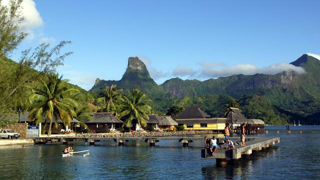 L'île de Moorea, appartenant à la Polynésie française [Marcel Mochet / AFP/Archives]