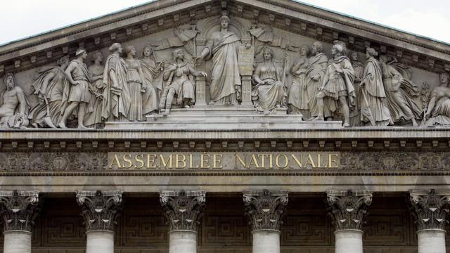 La façade de l'Assemblée nationale [Pierre Andrieu / AFP/Archives]
