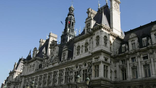 La mairie de Paris [Pierre Verdy / AFP/Archives]