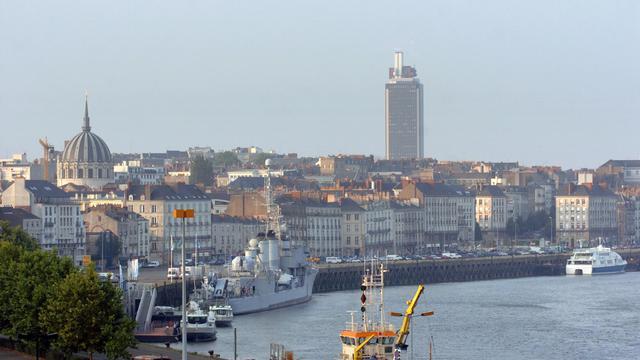 Une vue de la ville de Nantes [Frank Perry / AFP/Archives]