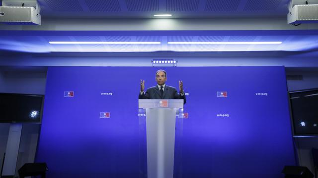 Le patron de l'UMP Jean-François Copé le 19 septembre 2012 à Paris [Kenzo Tribouillard / AFP/Archives]