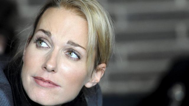 L'arrière petite-fille de Wagner, Katharina Wagner, à Berlin en 2011 [Maurizio Gambarini / DPA/AFP/Archives]