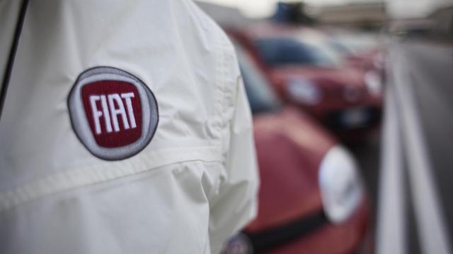 Le logo de la marque automobile Fiat [Andrea Baldo / AFP/Archives]