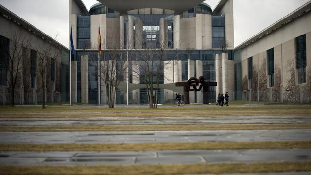 La chancellerie allemande à Berlin [Barbara Sax / AFP/Archives]