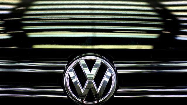 Le logo de Volkswagen [Odd Andersen / AFP/Archives]