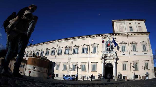 Le Palais du Quirinal à Rome [Gabriel Bouys / AFP/Archives]