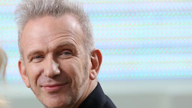 Le couturier Jean-Paul Gaultier, le 17 mai 2012 à Cannes [Loic Venance / AFP/Archives]
