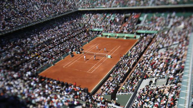 Le court Philippe Chatrier de Roland Garros [Thomas Coex / AFP/Archives]