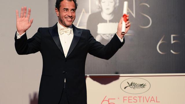 Le réalisateur Matteo Garrone, le 27 mai 2012  à Cannes [Anne-Christine Poujoulat / AFP/Archives]