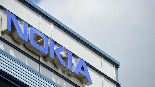 Le logo de Nokia sur un bâtiment du groupe [Stefan Puchner / DPA/AFP/Archives]