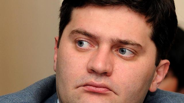 Le ministre de l'Intérieur, Bacho Akhalaia, le 3 juillet 2012 [Vano Shlamov / AFP/Archives]
