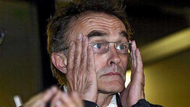 Danny Boyle, réalisateur et metteur en scène de la pièce Frankenstein, le 27 juillet 2012 à Londres [Toby Melville / Pool/AFP/Archives]