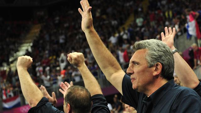 Le sélectionneur de l'équipe de France de handball, Claude Onesta, le 12 août 2012 à Londres [Javier Soriano / AFP/Archives]
