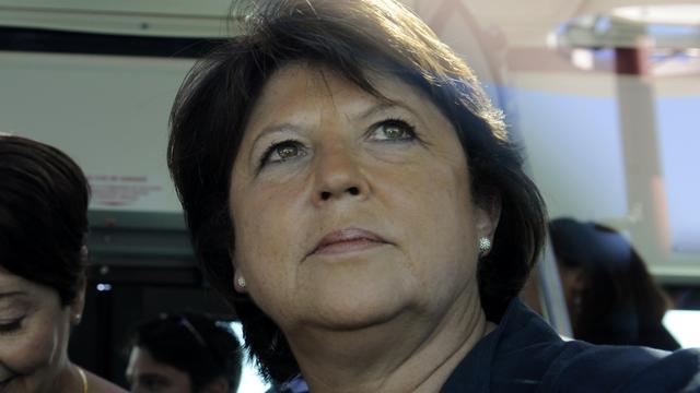 Martine Aubry, le 26 août 2012 à La Rochelle [Jean-Pierre Muller / AFP/Archives]