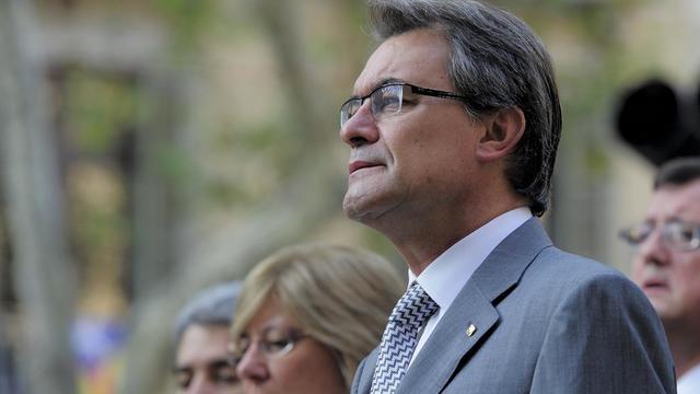 Le président de la Catalogne Artur Mas, le 11 septembre 2012 à Barcelone [Josep Lago / AFP/Archives]