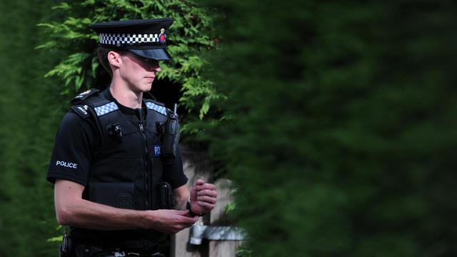 Un policier britannique [Carl Court / AFP/Archives]