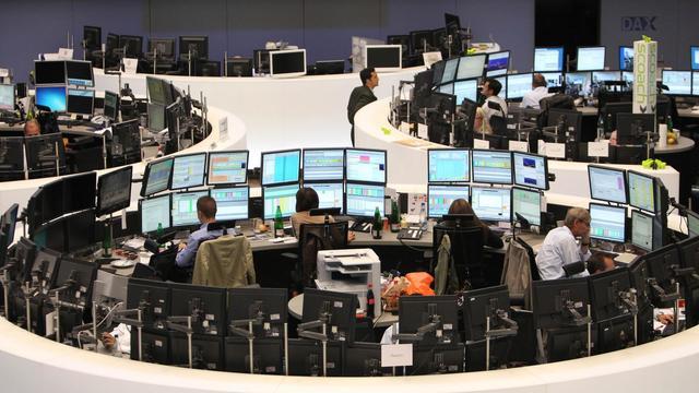 A la Bourse de Francfort [Daniel Roland / AFP/Archives]