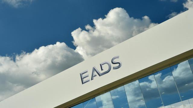 Vue du logo d'EADS [Johannes Eisele / AFP]