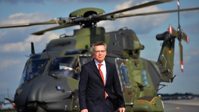 Le ministre allemand de la Défense Thomas de Maizière, le 13 septembre 2012 à Berlin [Johannes Eisele / AFP/Archives]