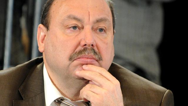 Portrait du député russe Guennadi Goudkov, pris le 31 janvier 2012 à Moscou [Kirill Kudryavtsev / AFP/Archives]