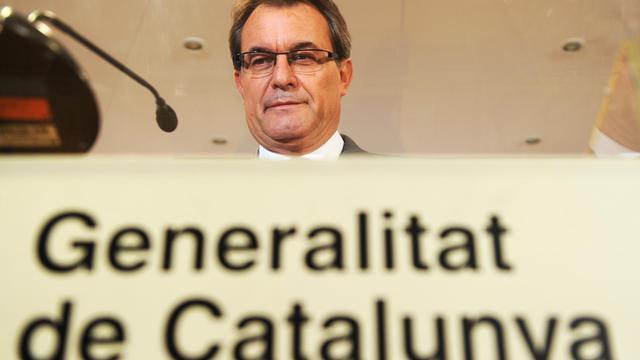 Artur Mas, le 20 septembre 2012 à Mardid [Dominique Faget / AFP/Archives]