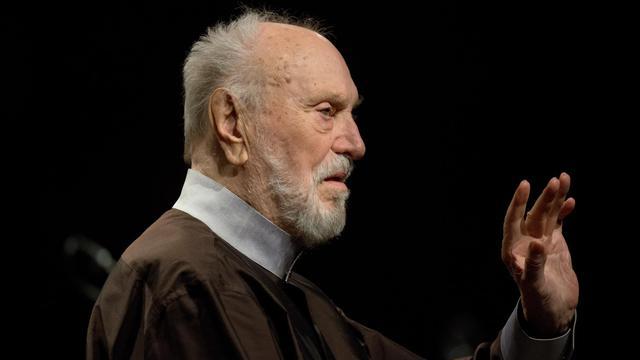 Le chef d'orchestre allemand Kurt Masur, le 15 septembre 2012 à Peenemünde en Allemagne [Stefan Sauer / DPA/AFP]