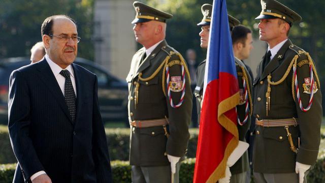 Le Premier ministre irakien Nouri al-Maliki, le 11 octobre 2012 lors d'un déplacement à Prague [Michal Cizek / AFP/Archives]