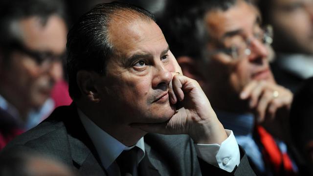 Jean-Christophe Cambadélis, secrétaire national du PS pour l'Europe, le 27 octobre 2012 à Toulouse [Remy Gabalda / AFP/Archives]