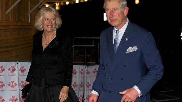 Le prince Charles et son épouse Camilla, àç Londres, le 28 novembre 2012 [Andrew Cowie / AFP/Archives]