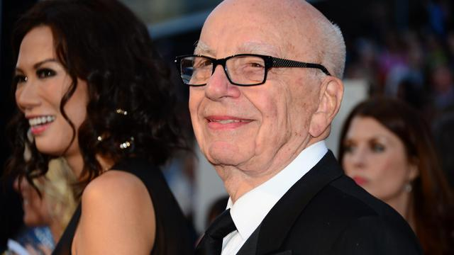 Le magnat des médias Rupert Murdoch, le 4 février 2013 à Hollywood, en Californie [Frederic J. Brown / AFP/Archives]
