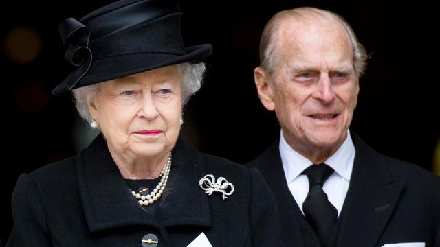 Le prince Philip, mari de la reine Elizabeth II, le 17 avril 2013 à Londres [Leon Neal / AFP/Archives]
