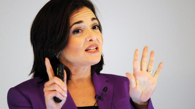 La directrice de Facebook, Sheryl Sandberg [Angelika Warmuth / DPA/AFP]
