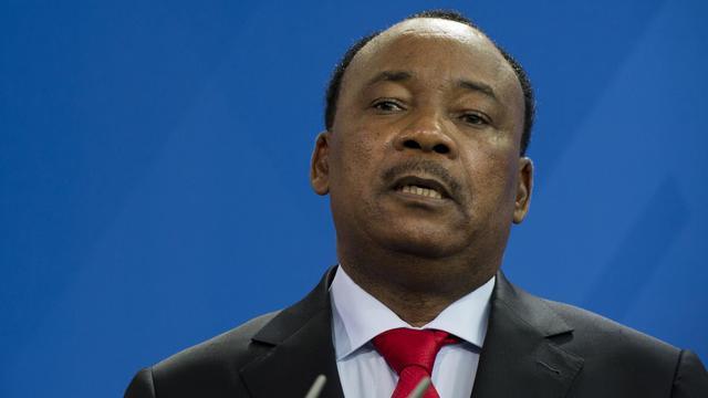 Le président nigérien Mahamadou Issoufou, le 8 mai 2013 à Berlin [John Macdougall / AFP/Archives]
