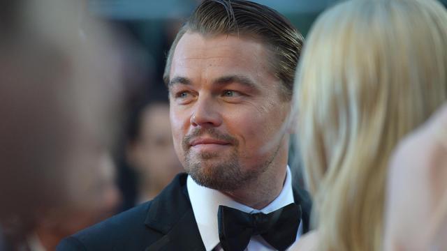 """Leonardo DiCaprio, interprète de """"Gatsby le Magnifique"""", le 15 mai 2013 à Cannes [Alberto Pizzoli / AFP/Archives]"""