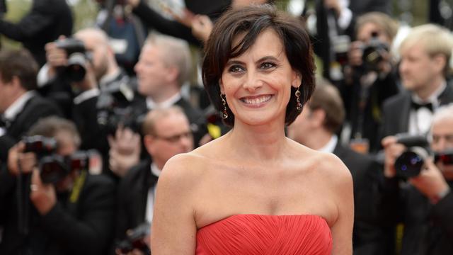 Inès de la Fressange au festival de Cannes, le 16 mai 2013 [Anne-Christine Poujoulat / AFP/Archives]