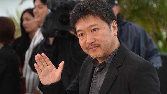Le réalisateur Japonais Hiratsu Kore-Eda, le 18 mai 2013 à Cannes [Alberto Pizzoli / AFP]