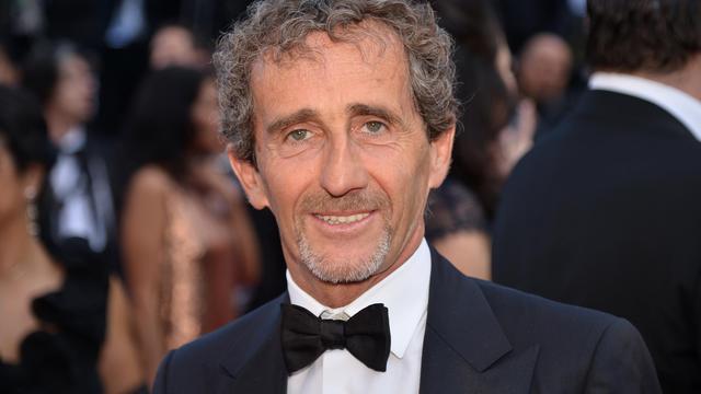 Le quadruple champion du monde français de F1 Alain Prost le 21 mai 2013 à Cannes [Alberto Pizzoli / AFP/Archives]