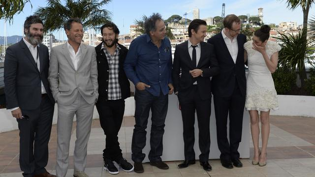 "L'équipe du film ""The immigrant"", le 24 mai 2013 à Cannes [Anne-Christine Poujoulat / AFP]"