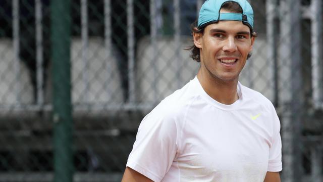 Rafael Nadal le 25 mai 2013 à Roland Garros à Paris [Kenzo Tribouillard / AFP]