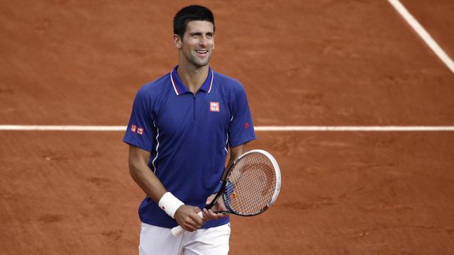 Novak Djokovic, après sa victoire sur l'Argentin Guido Pella à Roland-Garros, le 30 mai 2013 à Paris [Martin Bureau / AFP]