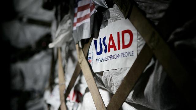De l'aide humanitaire acheminée par l'agence américaine pour le développement international (USAID) [Sergent Andres Alcaraz / Armée américaine/AFP/Archives]