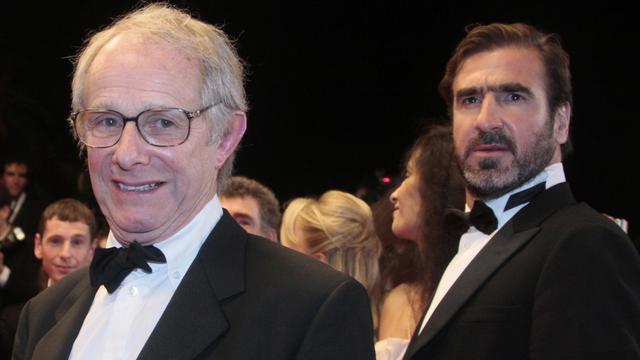 Eric Cantona et Ken Loach, le 18 mai 2009 à Cannes [Francois Guillot / AFP/Archives]