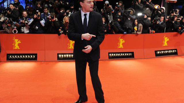 L'acteur Leonardo di Caprio, à Berlin le 13 février 2010 [John Macdougall / AFP/Archives]