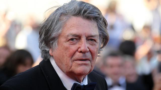 Le cinéaste Jean-Pierre Mocky à Cannes, le 20 mai [Valery Hache / AFP/Archives]