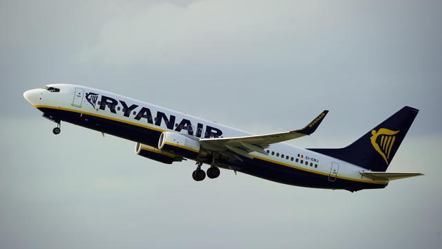 Un appareil de la compagnie Ryanair au décollage [Josep Lago / AFP/Archives]
