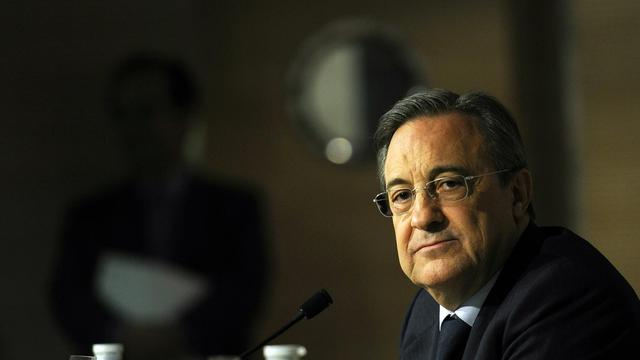 Le président du Real Madrid, Florentino Perez [Dominique Faget / AFP/Archives]