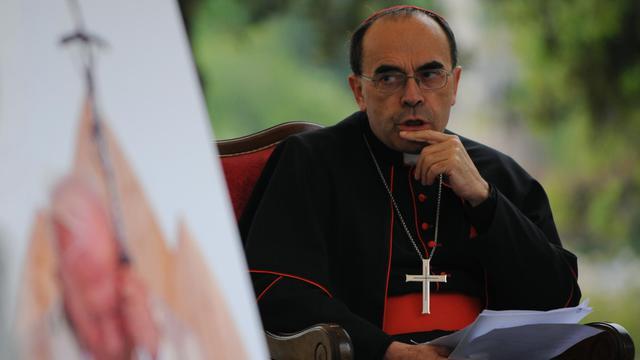 Le cardinal Philippe Barbarin, archevêque de Lyon, le 30 avril 2011 à Rome [Mario Laporta / AFP/Archives]