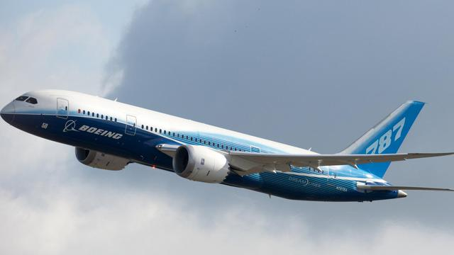 Le Boeing 787 Dreamliner dans le ciel de Berlin, le 25 juin 2011 [Robert Schlesinger / DPA/AFP/Archives]